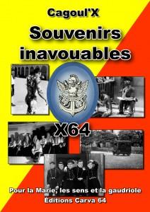 Couverture : Souvenirs Inavouables par Cagoul'X